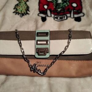 Guess Clutch with Chain Strap
